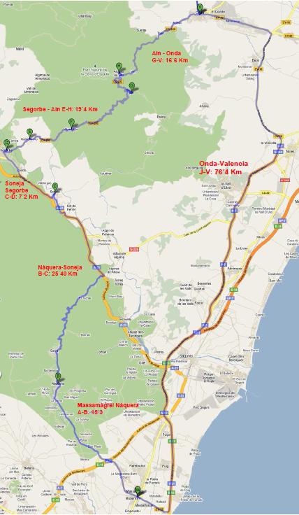 RUTA ADZANETA RING – 330 Km +/-