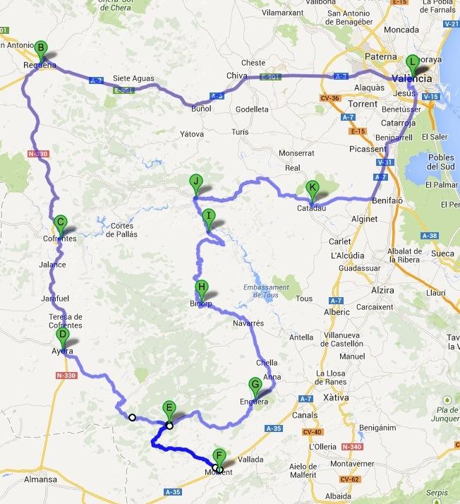 RUTA EBASTEL FORTE PLUS – 400 KM +/-