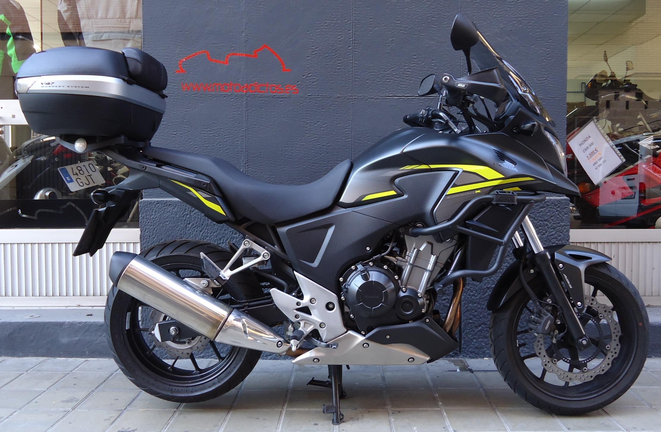 HONDA CB 500 X NEGRA